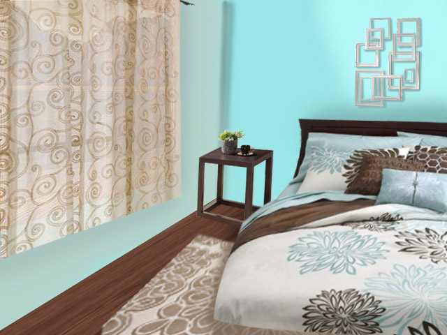 Guest bedroom edited view virtual redesign in Tucson Arizona