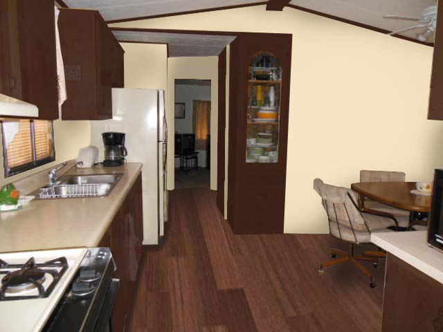 Kitchen edited view virtual redesign in Tucson Arizona