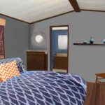 Master bedroom edited view virtual redesign in Tucson Arizona
