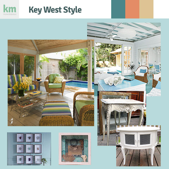 Key West style concept board of Hoochi Koochi wax studio in Lantana Florida