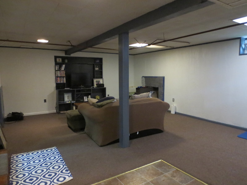 before view 2 cape cod style virtually redesigned finished basement seekonk massachusetts