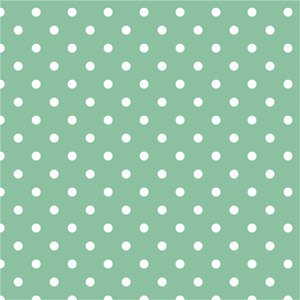 Interior design hints for styling on your own jade green and white polka dot pattern