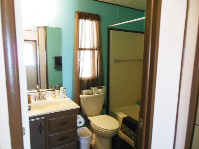 Guest bathroom after view virtual redesign in Tucson Arizona