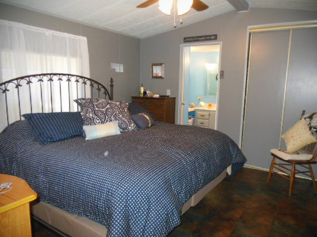 Master bedroom after view virtual redesign in Tucson Arizona